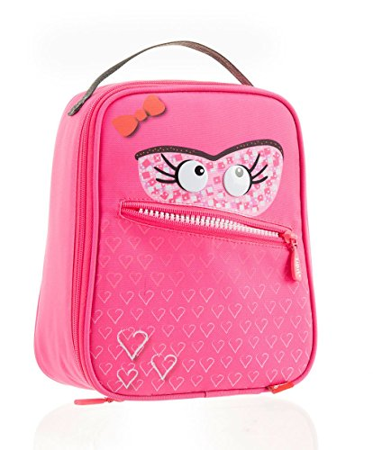 Zipit Talking Monstar Lunch Bag, Dazzling Pink (ZTLB-AR-SKY)