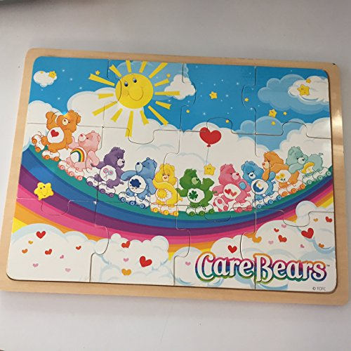 Care Bears Wooden 12 Piece Puzzle Rainbow