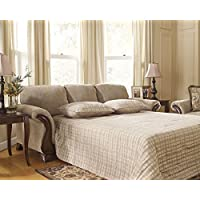 Ashley Lanett Queen Sofa Sleeper, Barley