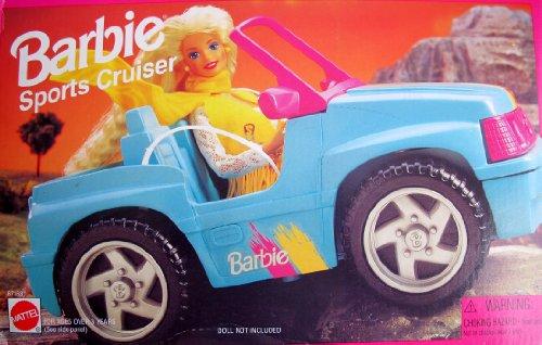 Barbie Sports Cruiser Jeep Vehicle Convertible Car 1995