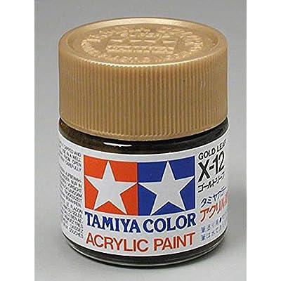 Tamiya America, Inc Acrylic X12 Gloss,Gold Leaf, TAM81012: Toys & Games