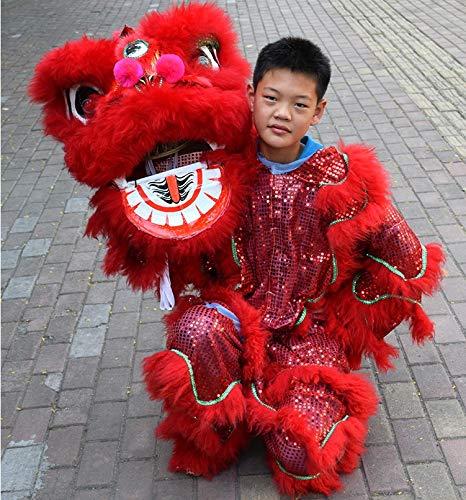 Everythingwushu Kids Sized Lion Dance Equipment Wushu Lion Dancing Costume