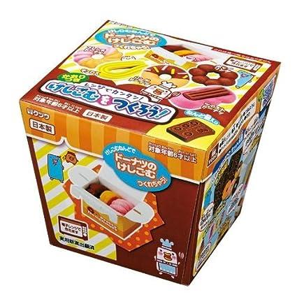Amazon 1 x diy eraser making kit to make yourself donut eraser 1 x diy eraser making kit to make yourself donut eraser solutioingenieria Choice Image