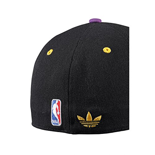 Negro Nba Fitted Lakers Gorra L Los Angeles – Morado adidas 6OTFwq0