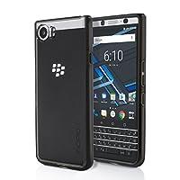 Incipio Octane Pure Case for BlackBerry KEYone Smartphone - Black / Clear