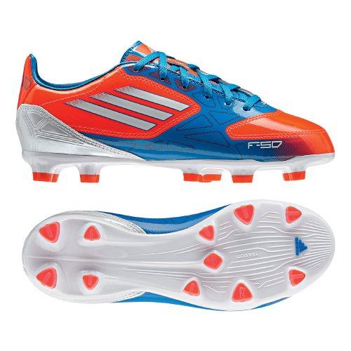 adidas F10 Trx Fg J - Zapatillas de fútbol Niños naranja