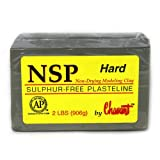 Chavant Clay - NSP Hard Green - Sculpting and Modeling Clay (1/4 Case)