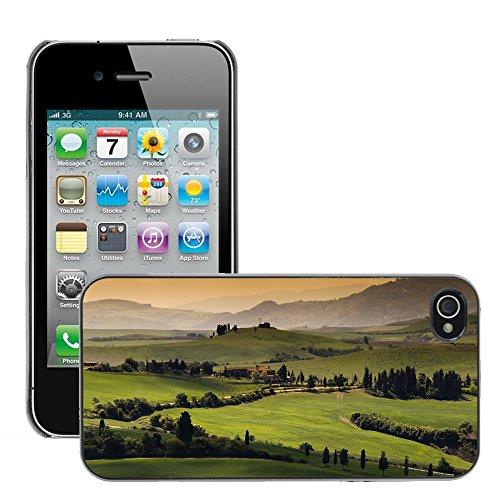 Hülle Case Schutzhülle Cover Premium Case // V00002697 Toskana // Apple iPhone 4 4S 4G