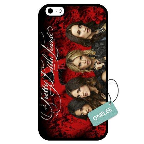 Onelee - Customized Pretty Little Liars TPU Apple iPhone 6 Case Cover - Black 01