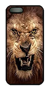 Covers Big Face Ring Tailed Lemur Custom PC Hard Case Cover for iPhone 5/5S Black by lolosakes