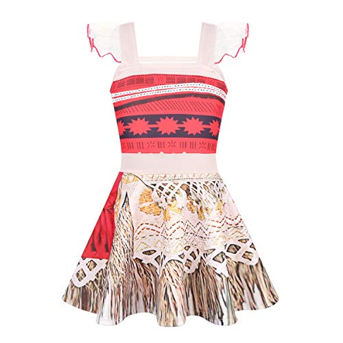 Agoky Infant Kids Girls Halloween Princess Cosplay Costume Birthday Theme Party Dress up Colorful 12-18Months -