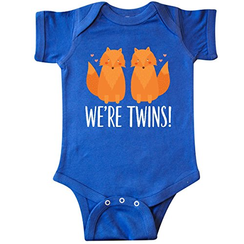 Fox Infant Creeper (inktastic Twins Gift Cute Fox Infant Creeper Newborn Royal Blue)