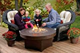Gas Outdoor Fire Pit Table Oriflamme Savanna (38'' Table Top)