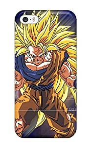5/5s Scratch-proof Protection Case Cover For Iphone/ Hot Super Saiyan Goku Phone Case by mcsharks