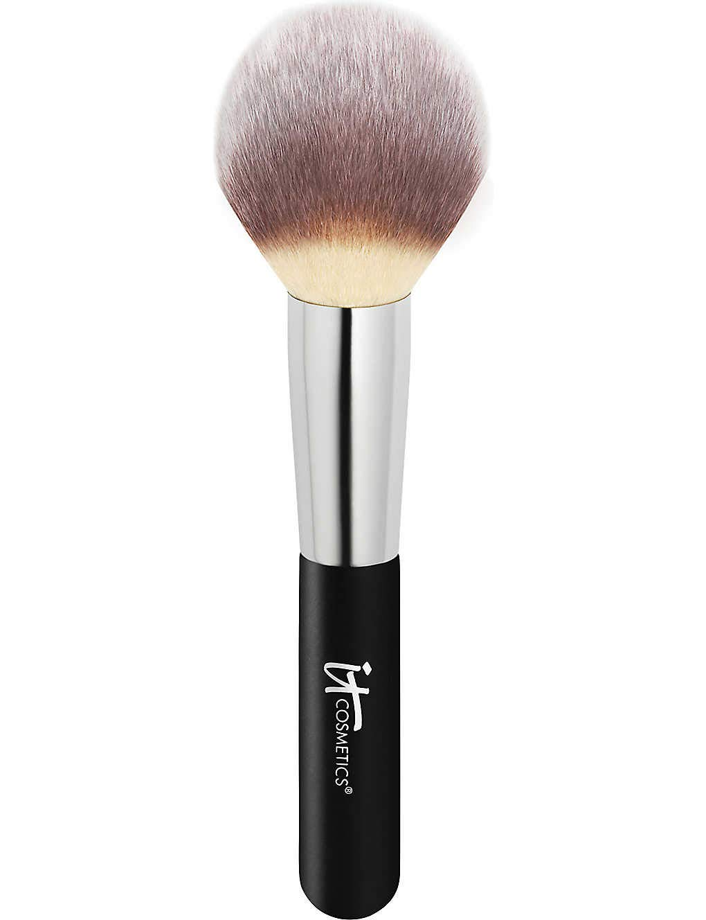 IT Cosmetics Heavenly Luxe Wand Ball Powder Brush #8 - Soft, Rounded, Tapered Brush - For Loose & Pressed Powder - Poreless, Optical-Blurring Finish - With Award-Winning Heavenly Luxe Hair