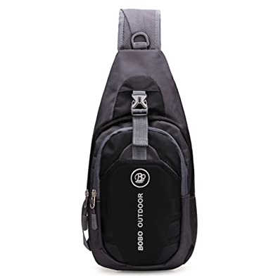 Qflmy Shoulder Backpack, Casual Cross Body Bag Outdoor Sling Bag ...