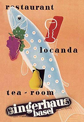 Buyenlarge tea restaurant 12x18 print on canvas