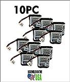 10PC GP35AAAH2BMX,GP-35AAAH2BMX,PAG003 Pager Battery, 2.4V, 400mAh, NiMH, PGB-35AAAH2BMX
