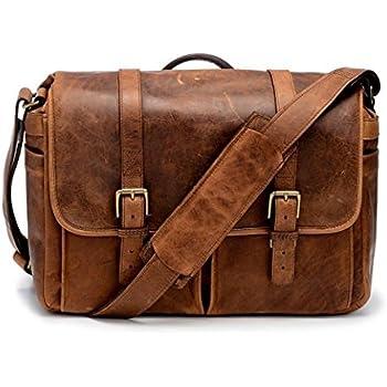 ONA - The Brixton - Camera Messenger Bag - Antique Cognac Leather (ONA5-013LBR)