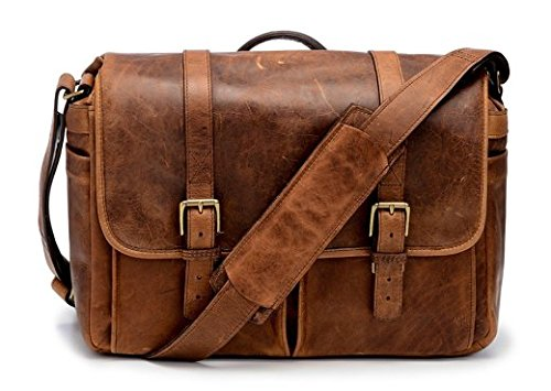 ONA - The Brixton - Camera Messenger Bag - Antique Cognac Leather (ONA5-013LBR) by Ona