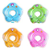 Baby Float,NewJoy 1-18 Months Baby Floating Swim Ring,Inflatable Swimming Neck Safety Ring