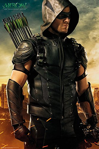 amazon com arrow tv show poster print oliver queen arrows