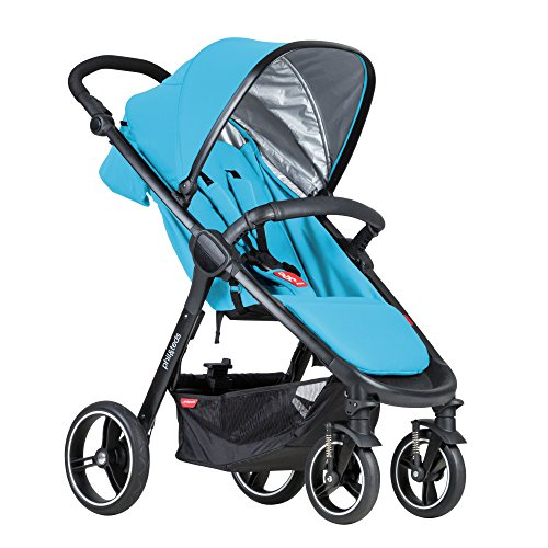 phil&teds Smart Buggy, Cyan