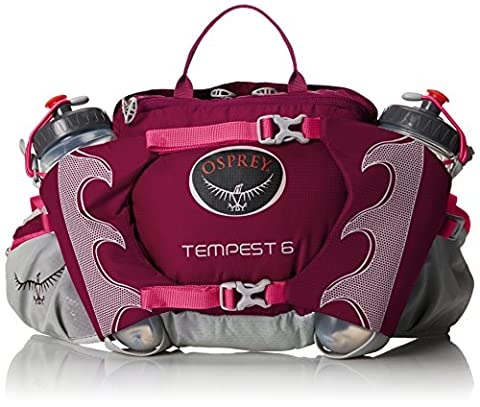 Osprey Packs Tempest 6 Hip Pack, Mystic Magenta, One Size - Lumbar Pack