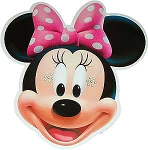 Disney's - Minnie Mouse - Card Face Mask: Amazon.es
