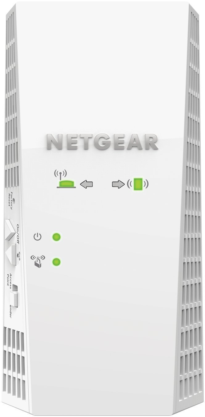 NETGEAR AC2200 Mesh WiFi Extender, Seamless Roaming, One WiFi Name, Works with Any WiFi Router. Create Your own Mesh WiFi System (EX7300) (Certified Refurbished) by NETGEAR (Image #1)