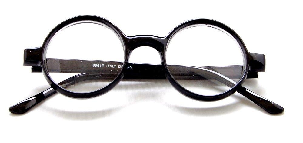 The Cambridge - Iris Style Totally Round Reading Glasses, 2.75, Tortoise by Boomer Eyeware (Image #4)