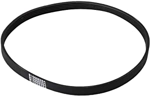 W10006384 Washer Belt Drive Belt Replacement Fits Following WPW10006384 PS2579381 EA2579381 PS2579381 PS11747978 AP6014712 1871380 20.47x0.47x0.12inch