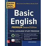 Practice Makes Perfect Basic English, Second Edition: (Beginner) 250 Exercises + 40 Audio Pronunciation Exercises (Practice Makes Perfect Series)