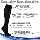 ACTINPUT 5 Pairs Compression Socks Women & Men