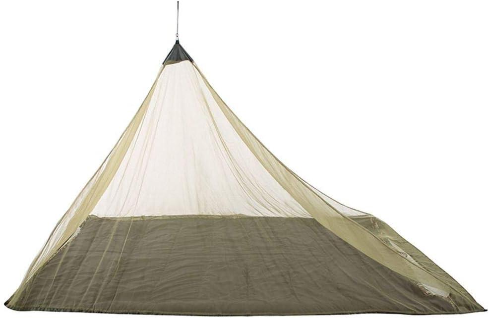 蚊帳 キャンプ釣りハイキング庭のための屋外の蚊帳トライアングル蚊帳テントシェルター 虫除け 蚊よけ (Color : Green)