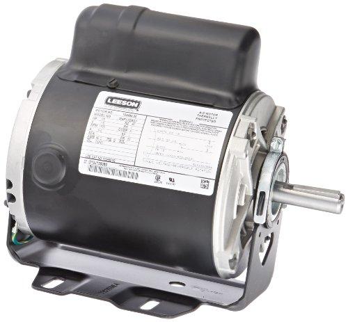 Leeson 103460.00 Instant Reversing Motor, 1 Phase, S56 Fr...