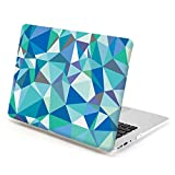 13 Macbook Air Case, GMYLE Hard Case Print Frosted for MacBook Air 13 inch - Geometry Pattern Rubber Coated Hard Shell Case Cover