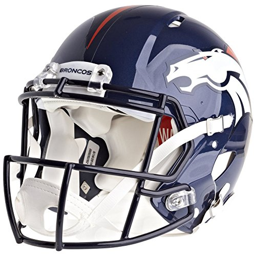 Denver Broncos Officially Licensed Speed Authentic Football Helmet by Riddell