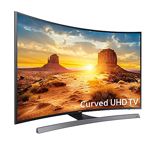 Samsung UN55KU6600 Curved 55-Inch 4K Ultra HD Smart LED TV (2016 Model)