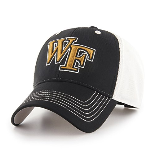 (NCAA Wake Forest Demon Deacons Sling OTS All-Star MVP Adjustable Hat, Black, One Size)