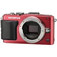 Olympus Mirrorless SLR E-PL6 Body Only (Red) - International Version