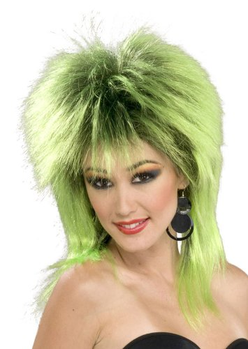 [Lime Green Shock Wig - Adult Std.] (Lime Green Wigs)