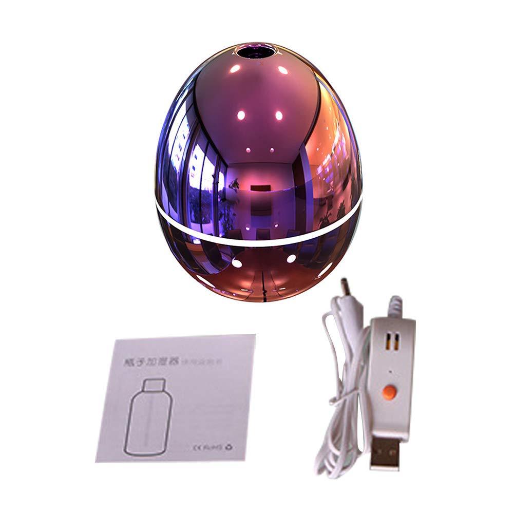 casa e Ufficio Blue RIsxffp 300ml Mini Forma di Uovo Diffusore Ultrasonico dellolio Essenziale dellumidificatore del USB dellautomobile per Camera da Letto