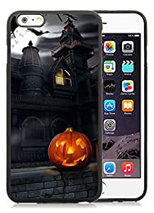 2014 New Style iPhone 6 Plus Case,Halloween Black iPhone 6 Plus 5.5 TPU Case 5 hjbrhga1544