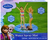 Disney Frozen Water Spray Mat 35'' Splashing Outdoor Fun