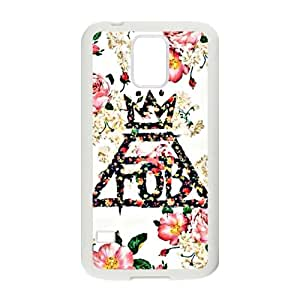Fall Out Boy Floral Logo Cell Phone Case for Samsung Galaxy S5