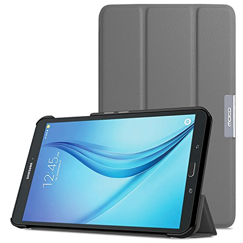 Tab E 8.0 Case - Ultra Lightweight Slim-shell Stand Cover Case for Samsung Galaxy Tab E (Sprint / US Cellular / Verizon / AT&T) SM-T377 4G LTE 8.0 Inch Tablet, ()