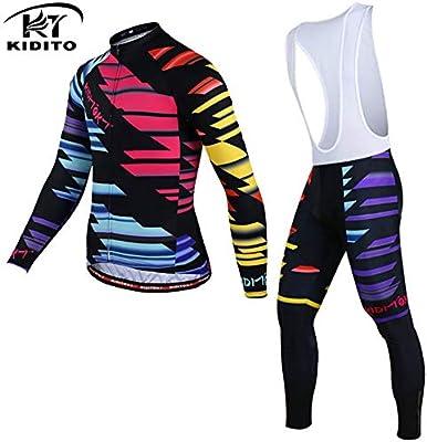 d1af53e81 Hwom Men s Cycling Clothing Suit Bike Tights Quick Dry Sportwear Set ...