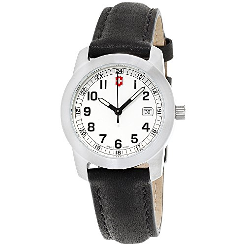 Victorinox Swiss Army White Dial Stainless Steel Ladies Watch 26003.CB