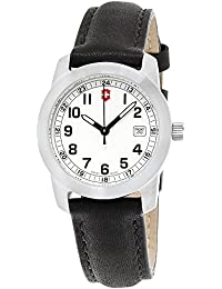 Swiss Army White Dial Stainless Steel Ladies Watch 26003.CB